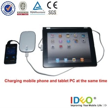 Universal battery charger 5500mah ,Hot sale in 2012!