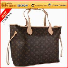 LAOLISI latest elegant designer vintage pu leather bag for ladies