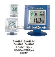 LCD Digital multi function alarm clock with date /time/calendar