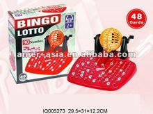 plastic intellective bingo toys play set IQ005273