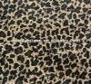 popular Leopard shoes /hat,bag material print fabric natural fiber woven
