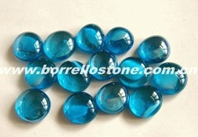 Landscaping Blue Glass Beads