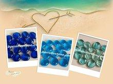 Blue Glass Beads For Exterior Decoration