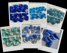 Decorative Blue Glass Beads For Garden