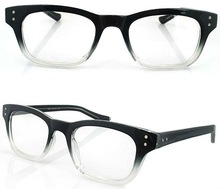 2012 new design hot sale black reading glasses for any face
