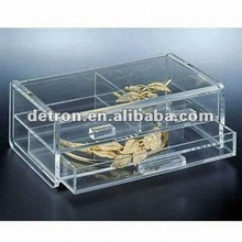 2012 Cosmetic/Makeup Drawer Organizers Made of Clear Acrylic/Crystal/Perspex A180 ~new