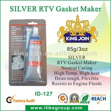 Neutral RTV Silicone Gasket Maker Silver