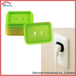 protector silicone tap safety cover, silicone waterproof socket cover