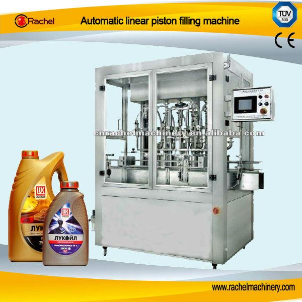 automatic linear piston filling machine view linear
