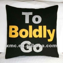 character printing cushion covers / pillow for indoor bench or sofa