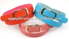candy color ladies PU belts strap YJ10204