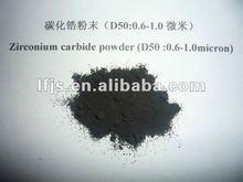 using steam the lung vest of zirconium carbide powder (LF-ZrC-0.6-1.0micron)