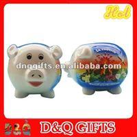 Ceramic souvenir piggy banks