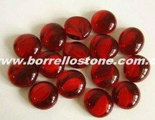 Decorative Red Glass Beads For Aquarium