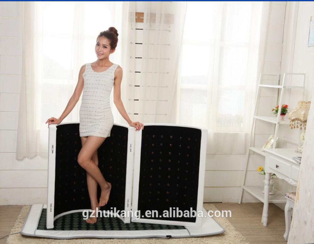 lay down portable sauna infrared carbon fiber heating panels infrared carbon fiber heating dome