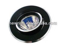 2012 G5.3 MR16/MR11 Halogen Pure Aluminum Downlight in Sand Black Color
