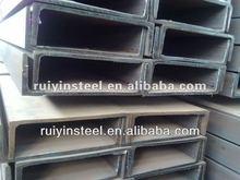 SS400/SS540 hot rolled mild steel JIS standard U Channels