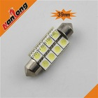car interior led lights car festoon led light 5050 SMD 8 LED