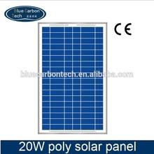 12v A-grade cell Poly solar panel 20W