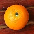 2013 novo design artificial belo fruto de laranja, fake decoração de frutas