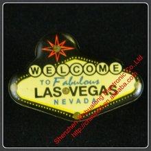 Flashing Pin Las Vegas Souvenir