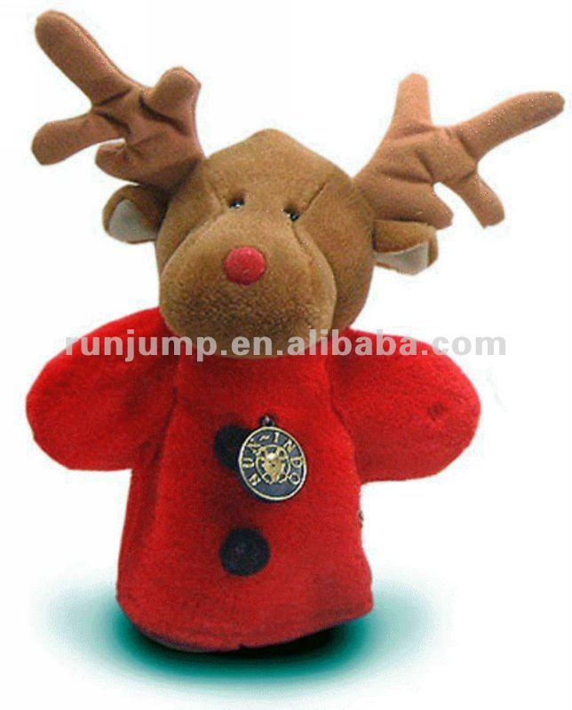 2012 dolce x'mas renna pupazzo/farcito peluche animali giocattolo