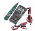 Mastech MS8236 Auto Range multímetro Digital + Cable Network Track Tester de cables de la línea telefónica del perseguidor