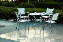 UNT-W-402 outdoor wooden dinner table set