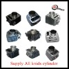 Motorcycle cylinder for CG200,GY6-50,GY6-80,GY6-125,GY6-125,LC135,MIO,GY200,JOG50,KB4S,BAJAJ