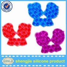 anti-slip suction cup rubber bath shower mat