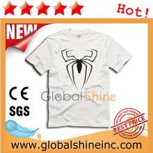 true fashion simple design light blue t shirt