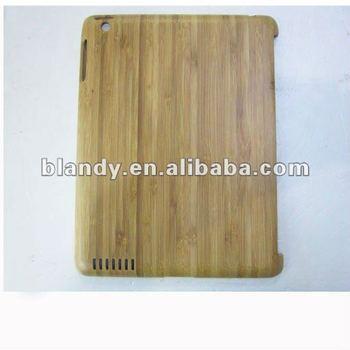 Good quality wood hard Case for ipad 2 3