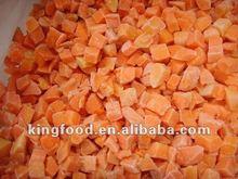 Frozen dice carrot