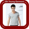 Europe Style Mens Cotton High Quality T-Shirts Short Sleeve Slim Fit V Neck T-Shirts