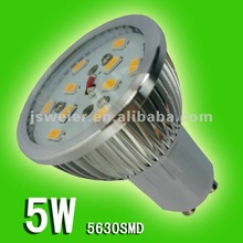 2012 low price 5w GU10 smd led Spotlight