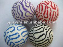 Custom design hi bouncing rubber ball