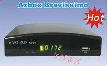 2014 New Columbia bravissimo N3 AZ BOX digital satellite receiver