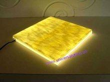 Backlit Back Lighting Honey Onyx Vanity Top