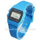 digital watch promotional watch super thin