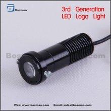 3rd Generation of Black LED Car Logo Lights