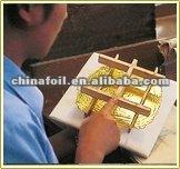 Since 1996 manufacturing gold leaf 24K gold foil.gilding foil