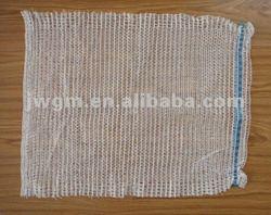 firewood raschel mesh bag used for packaging firewood