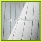 300d*300d 100% polyester stripe mini matt/ plain woven fabric for suit/ uniform