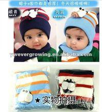 kids winter hat scarf sets