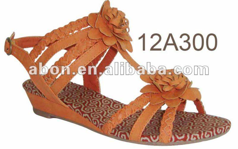 Spring model women sandal for 2013