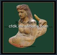 Famous Wood Sculptures, Mermaid Sculpture