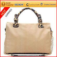 Crocodile leather lady bags fashion 2012 top quality