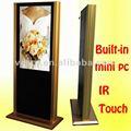 "42 "" todo en uno LCD kiosco IR táctil Monitor de pantalla de publicidad ( VP420MT-3 )"