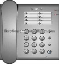Basic Pulse / Tone Telephone, stylish & hot selling, Flash/Recall/Mute/Hold on, professional manufacturer.