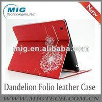 Dandelion Folio case for ipad 3
